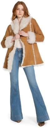 Alice + Olivia Harpo Shearling Coat