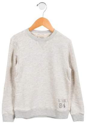 Scotch & Soda Boys' Printed Mélange Sweatshirt w/ Tags