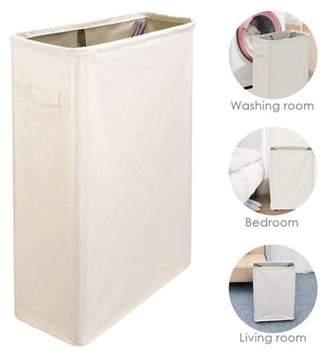 Meigar Foldable Storage Laundry Hamper Clothes Basket Organizer Laundry Washing Bag Bin