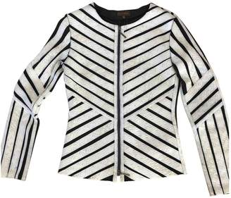 Adolfo Dominguez White Jacket for Women