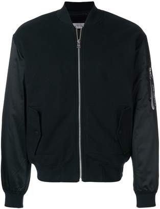 Calvin Klein Jeans contrast bomber jacket