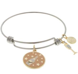"Love This Life love this life ""I'll Be There in a Prosecco"" Charm Bangle Bracelet"