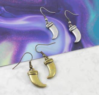 dbdf2a011 Lucy Loves Neko Antique Tusk Horn Earrings