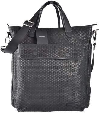Giorgio Armani Black Leather Bag
