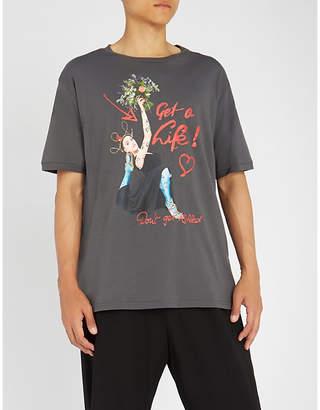 Vivienne Westwood Slogan-print cotton-jersey T-shirt