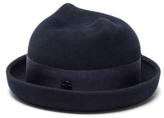Maison Michel Winnie Felt Hat - Womens - Navy