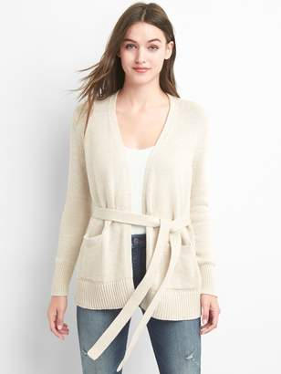Gap Tie-belt cardigan