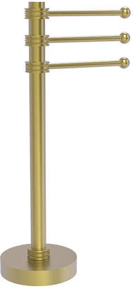ALLIED BRASS Allied Brass Vanity Top 3 Swing Arm Guest Towel Holder with Dotted Accents