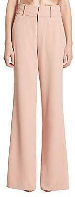 Alice + Olivia Women's Dawn High-Waist Wide leg Pants - Size 0