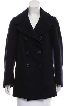 Marc Jacobs Notch-Lapel Wool Coat