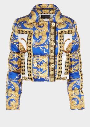 Versace Signature Pillow Talk Puffer Jacket