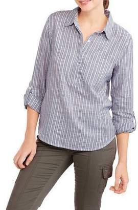 Erika Women's Nalia 3/4 Sleeve Pullover Shirt