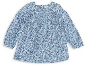 Ralph Lauren Baby Girl's Smocked Floral Top