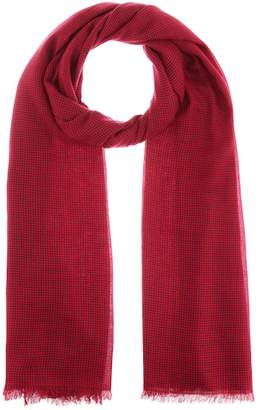 Isabel Marant Woody houndstooth wool scarf