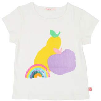 Billieblush Rainbow & Fruit Short-Sleeve Tee, Size 4-12