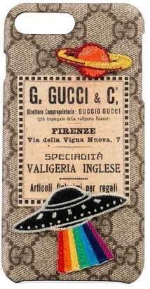Gucci Courrier iPhone 8 Plus case