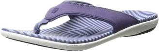 Spenco Women's Yumi Canvas Stripe Sandal