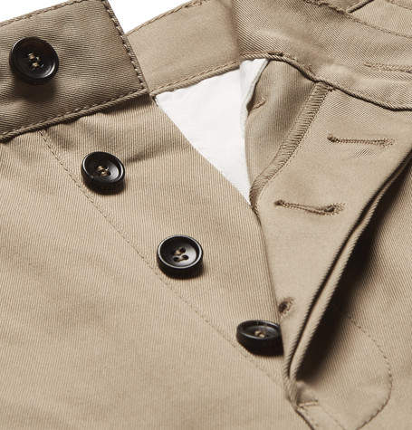 Gucci Appliquéd Cotton-Twill Shorts