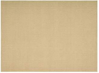 Calvin Klein shetland - basketweave rug in seagrass
