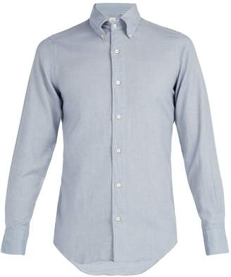 Finamore Cotton-flannel shirt
