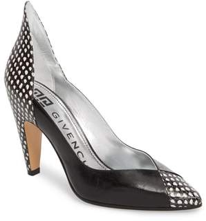 Givenchy Kangaroo Leather Pointy Toe Pump