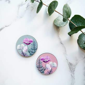 Mica Peet Wildflower Floral Brooch