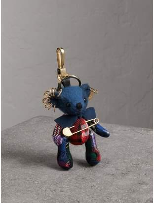Burberry Thomas Bear Charm with Kilt Pin