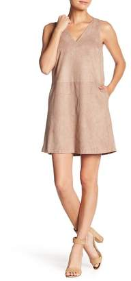 1 STATE 1.State Faux Suede Shift Dress