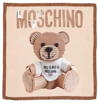 Moschino Foulard Silk Square Scarf