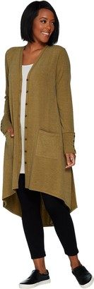 Logo By Lori Goldstein LOGO by Lori Goldstein Regular Brushed Jersey Duster