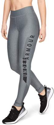 Under Armour Women's HeatGear Armour Graphic Leggings