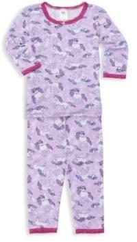 Kid's Two-Piece Unicorn Pajama Set
