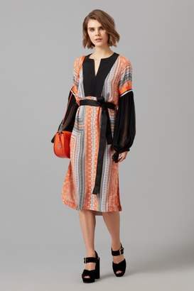 Amanda Wakeley Clementine & Lilac Printed Tunic Dress