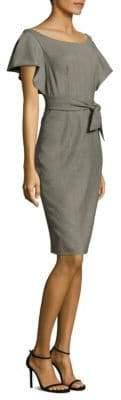 Milly Gabardine Dakota Sheath Dress