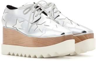 Stella McCartney Britt metallic platform derby shoes