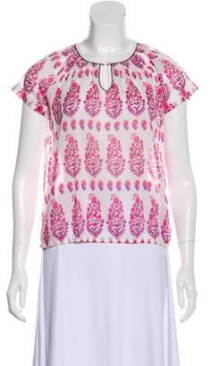 Crewcuts by J. Crew Floral Sheer Top w/ Tags