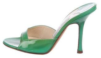 Jimmy Choo Patent Leather Strap Sandals