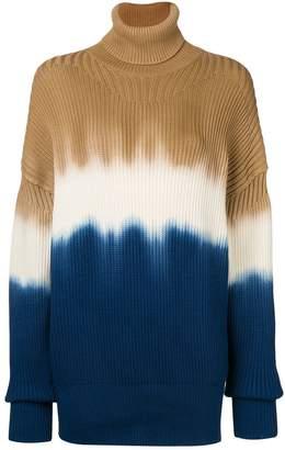 Sonia Rykiel dip dyed turtleneck