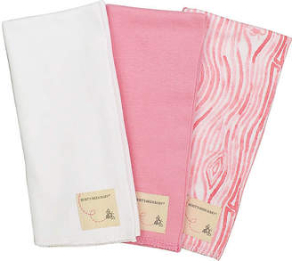 Burt's Bees 3 Pack Organic Cotton Burp Cloths