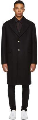 Versus Black Oversized Coat