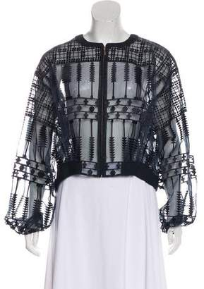 Sass & Bide Embroidered Casual Jacket