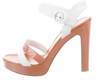 Gianvito Rossi Platform Ankle Strap Sandals