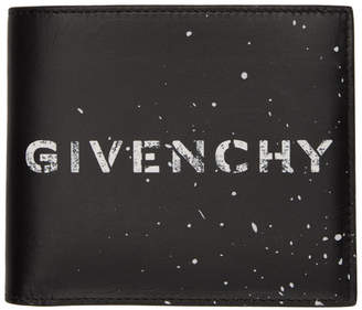 Givenchy Black Graffiti 8CC Wallet