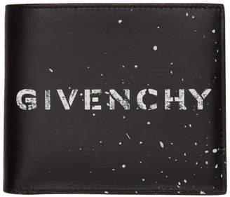 Givenchy Black Graffiti 8CC Wallet