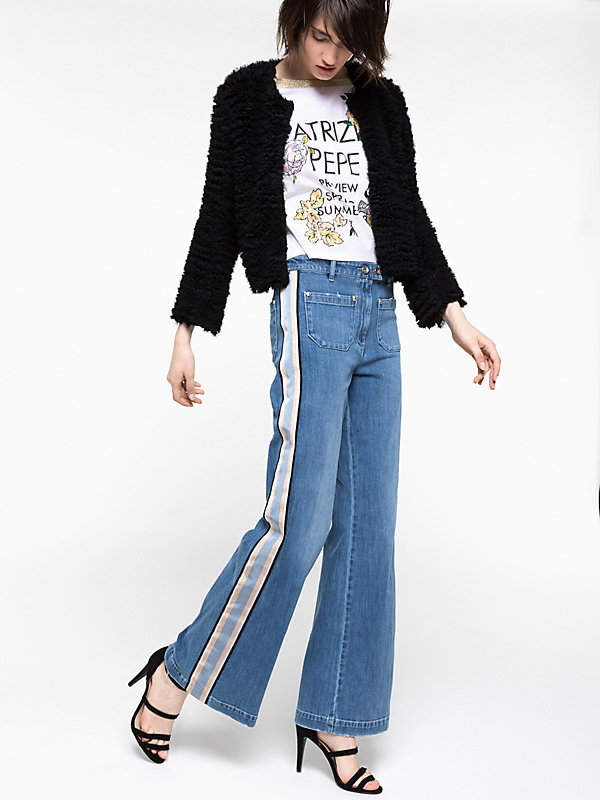 Weit geschnittene Jeans
