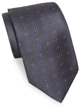 Brioni Classic Floral Silk Tie