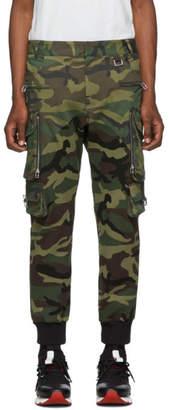 Faith Connexion Green Patrol Camo Cargo Pants