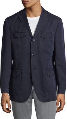 Kroon Unlined Notch Lapel Jacket