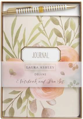 Laura Ashley Lifestyles Journal Notebook & Pen 2-piece Set