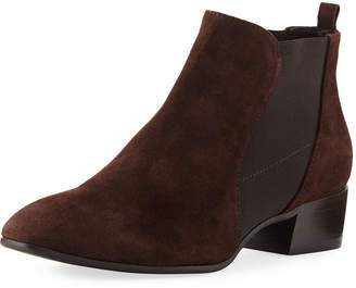 Aquatalia Falco Suede Gored Booties